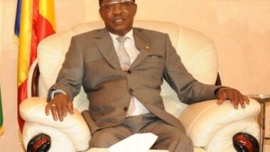 Interview du président tchadien Idriss Déby sur Euronews
