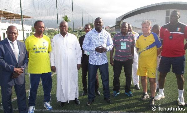 Coupe CEMAC 2014 : le ministre Adoulaye Ngardiguina visite les Sao du Tchad