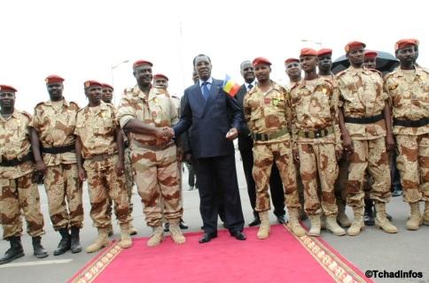 Tchad: le nouveau patron de l'armée de terre prend fonction