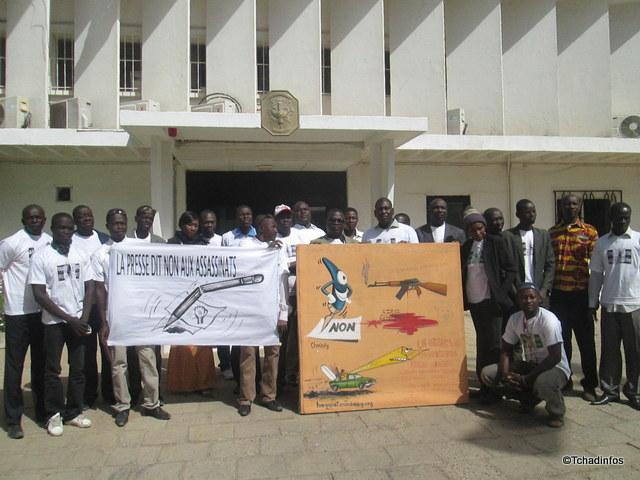 Charlie Hebdo : les journalistes tchadiens mobilisés à N'Djamena