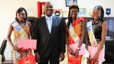Airtel récompense les gagnantes de l'élection Miss Tchad 2015