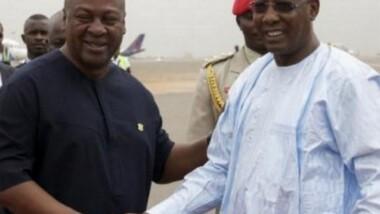 Les présidents tchadien et ghanéen ont échangé sur la lutte contre Boko Haram