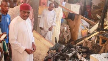 N'Djamena : incendie mineur au grand marché