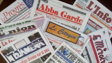 Revue de la presse au Tchad : semaine du 24 au 30 avril 2016