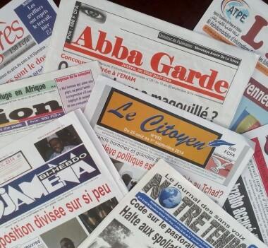 Revue de presse au Tchad : Semaine du 12 au 17 février 2018