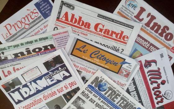 Revue de presse au Tchad: Semaine du 4 au 9 décembre 2017