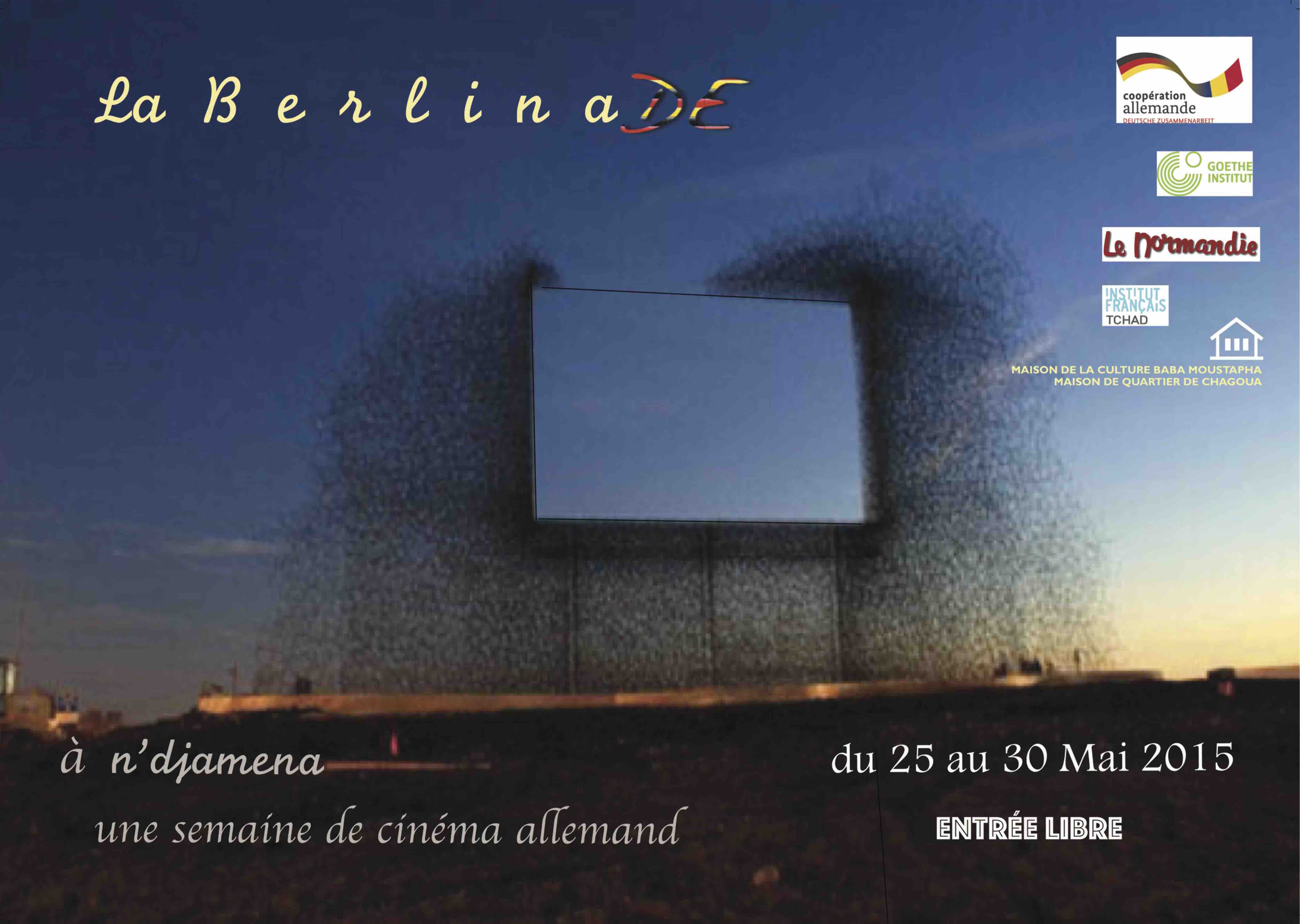 Cinéma Normandie : au programme cette semaine La Berlinade 2015 à N'Djamena