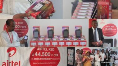 Airtel met sur le marché son propre smartphone, appelé Airtel Red à 44 500 FCFA