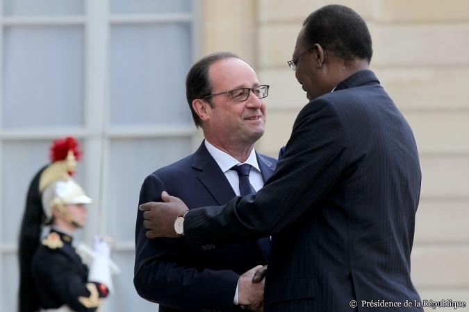 Idriss Déby Itno reçu à l'Elysée