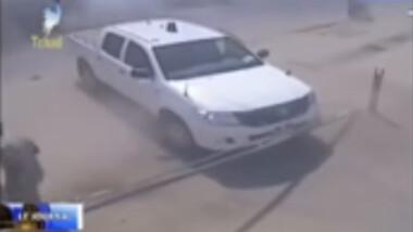 Attentats Tchad : vidéo de la camera de surveillance du commissariat central