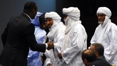 Mali : signature de l'accord de paix par les principaux groupes armés rebelles à Bamako