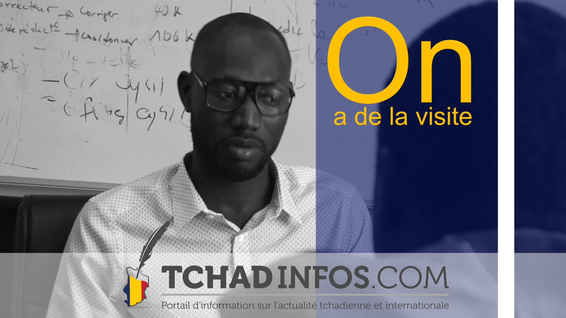 On a de la visite : Pepiang Toufdy cinéaste tchadien