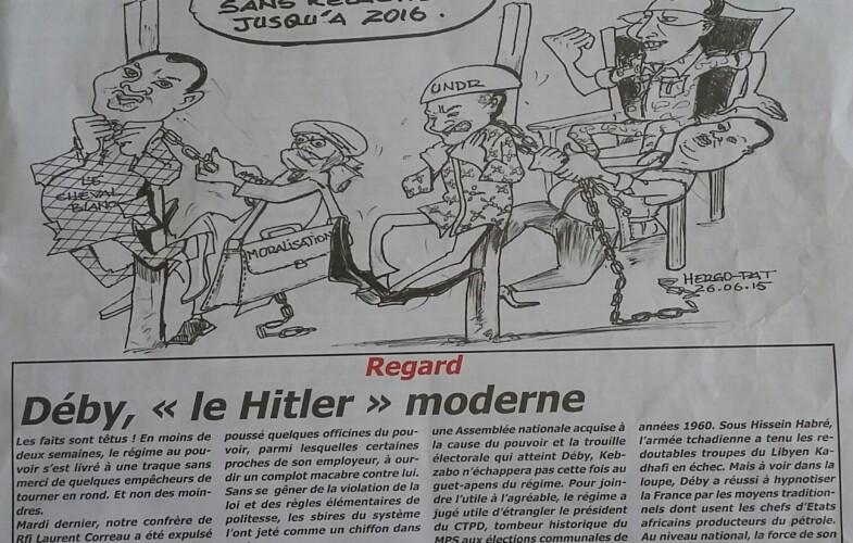 """Abba Garde s'excuse d'avoir traité le président Deby de """"Hitler"""" Moderne"""