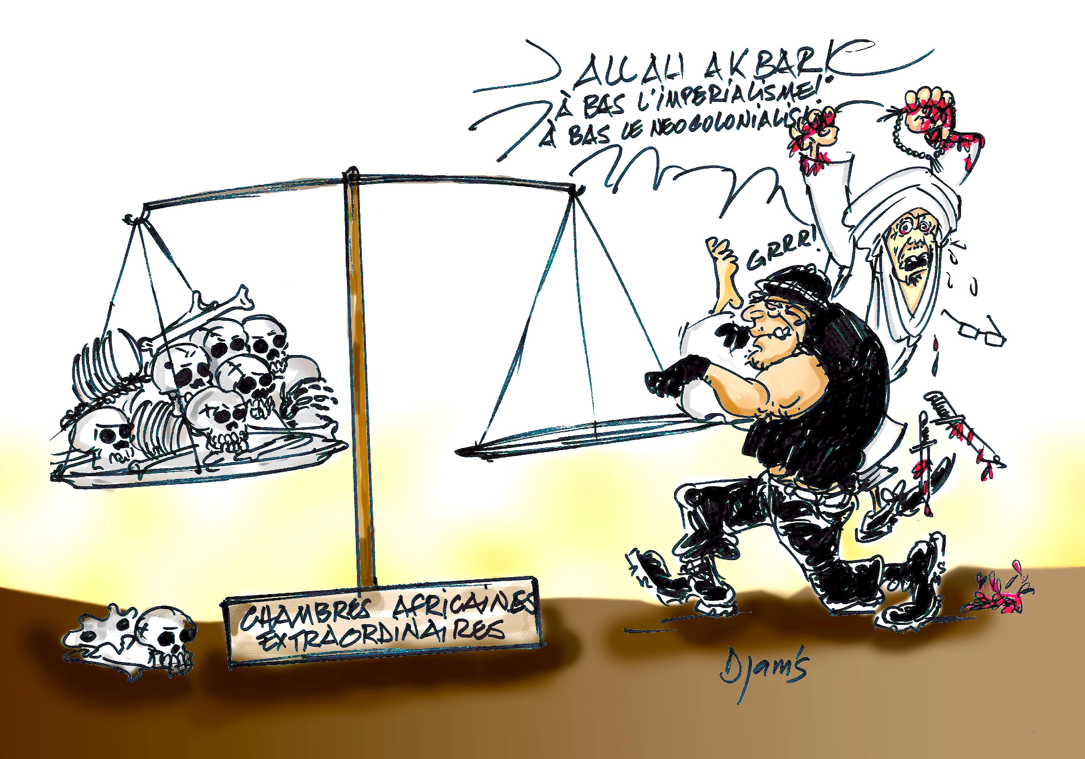 """""""A bas le colonialisme !"""" cria Habré"""