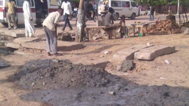Saison de pluie : la mairie de N'Djamena et ses curages de caniveaux inutiles