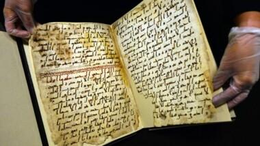 Un manuscrit du Coran de 1 400 ans a été retrouvé à Birmingham
