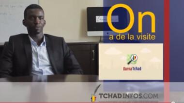 On a de la visite : Naïr Abakar fondateur de Darna Tchad
