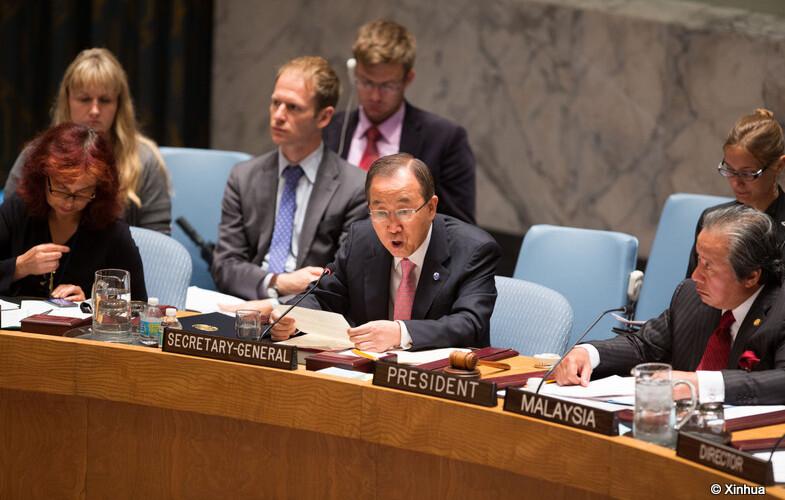 Libye : le chef de l'ONU se dit encouragée par le paraphe d'un accord de paix au Maroc