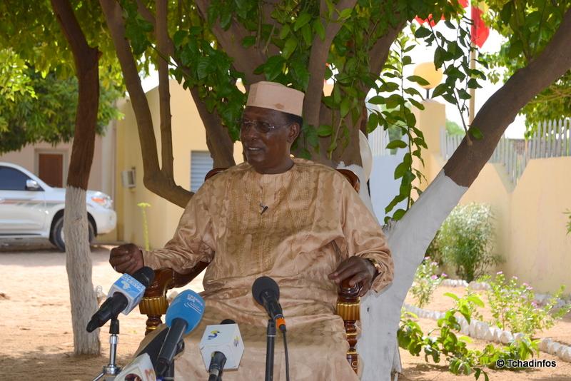 """Crise socio-économique : """"le Tchad est un pays crédible et ne peut pas être en faillite"""" Idriss Deby Itno"""