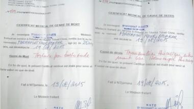 Tchad :  des gendarmes tuent deux jeunes par la torture