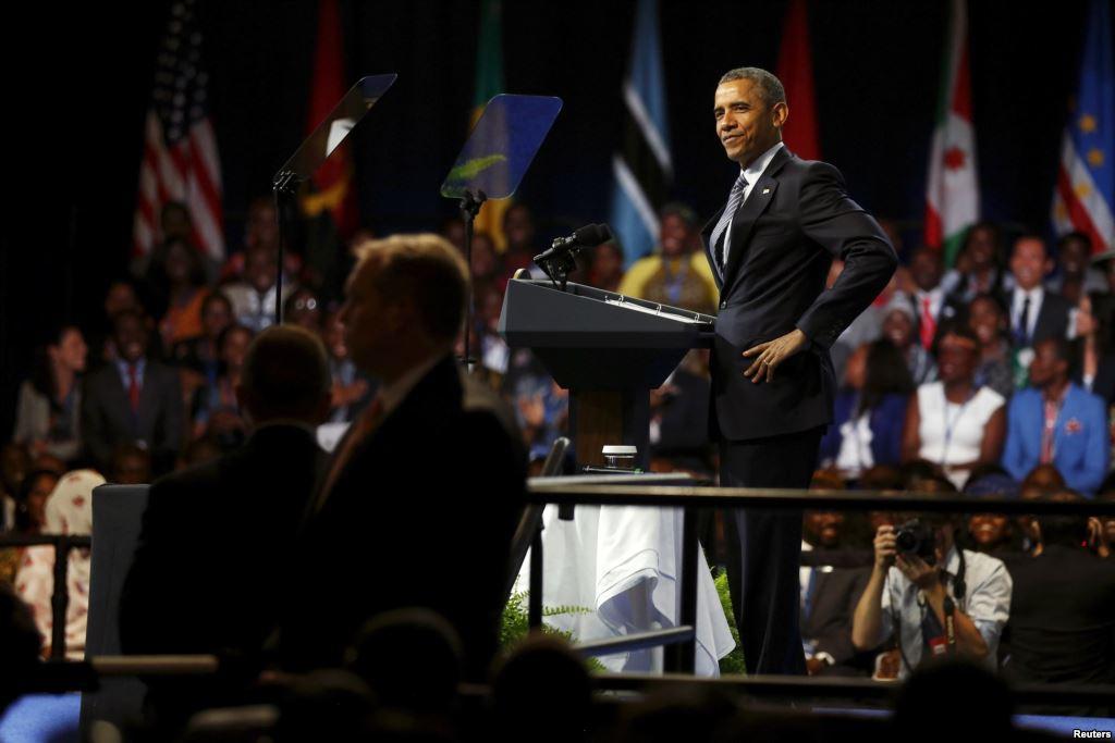 Obama exhorte les jeunes d'Afrique à poursuivre le progrès