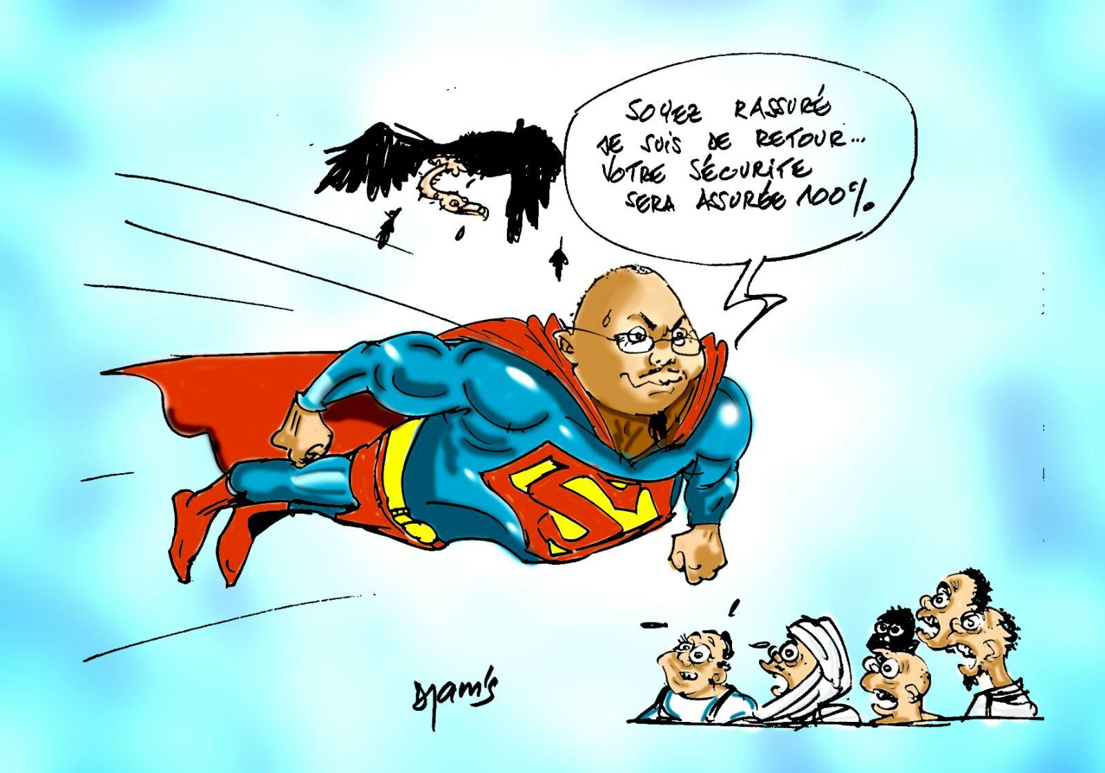 L'actualité vue par Djam's : le grand retour de Bachir #Tchad