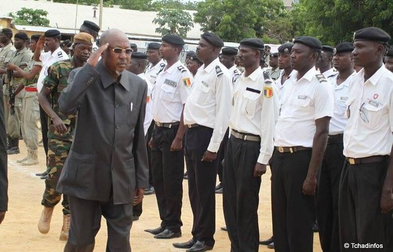 Tchad : Ahmat Bachir en visite chez les policiers