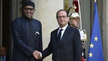 La lutte contre Boko Haram et Daech au cœur de l'entretien Hollande-Buhari