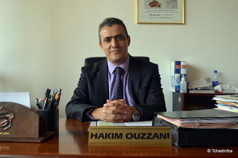 Portrait : Hakim Ouzzani directeur général de la Société Générale du Tchad