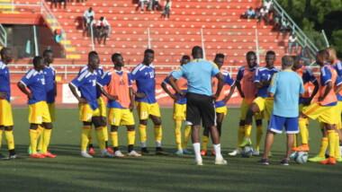 Les SAO du Tchad préparent leur match contre l'Egypte dans une ambiance bon enfant