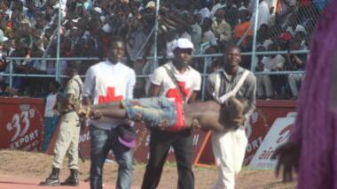 Plusieurs blessés lors du match Tchad – Egypte suite à des mouvements de foule
