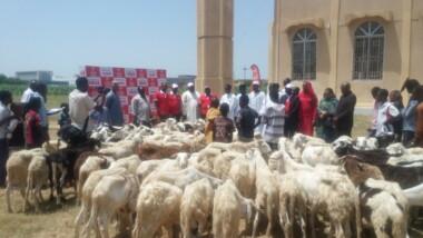 Airtel Tchad vole au secours des personnes démunies pour la Tabaski
