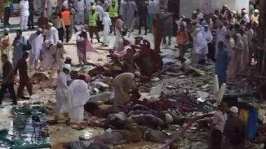 Une grue s'est effondrée sur la Grande mosquée de La Mecque faisant au moins 87 morts