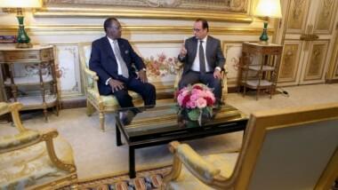 La situation en Centrafrique au menu des discussions entre les présidents français et tchadien