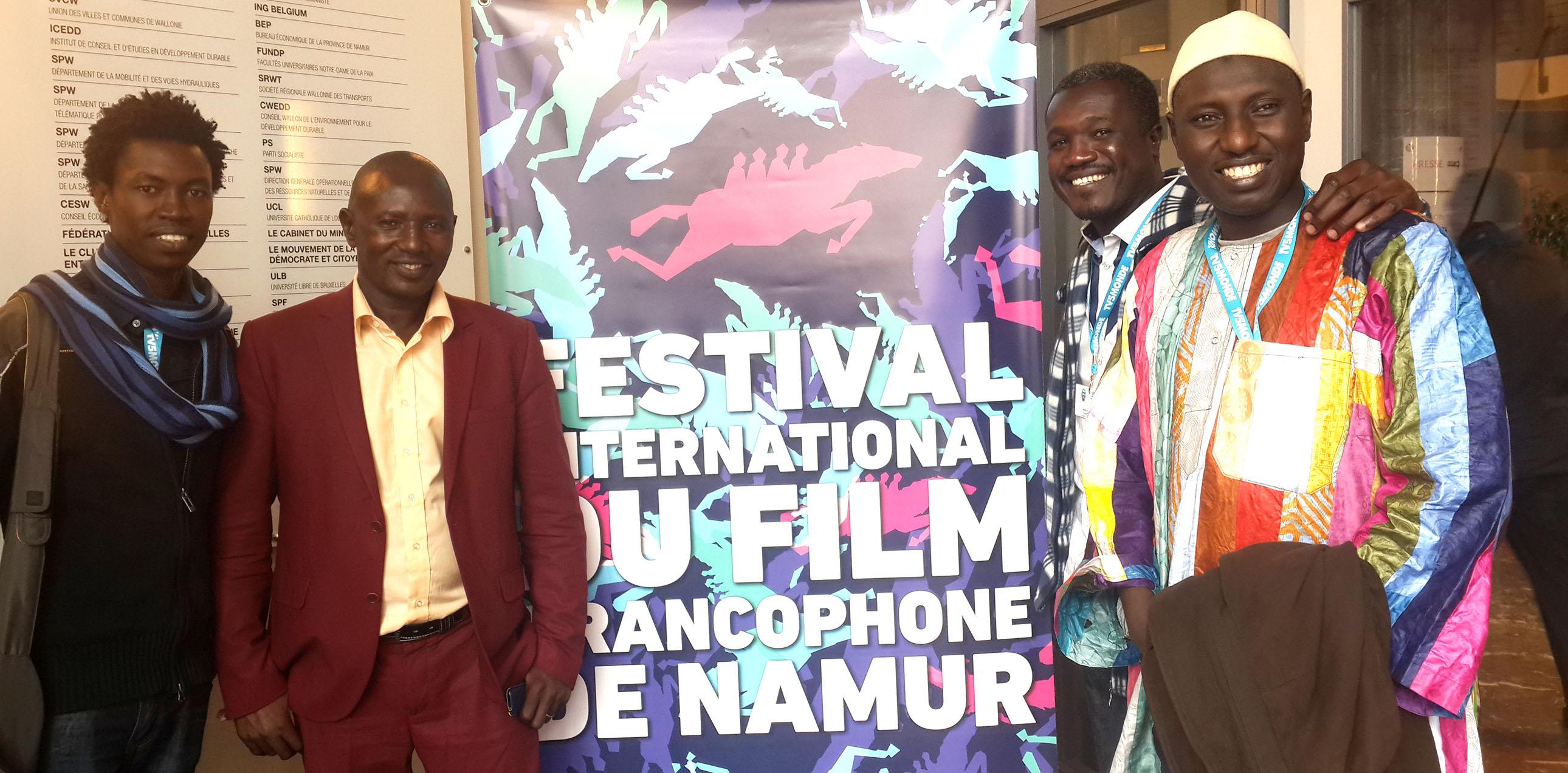 Le Tchad representé au Festival du film francophone de Namur en Belgique