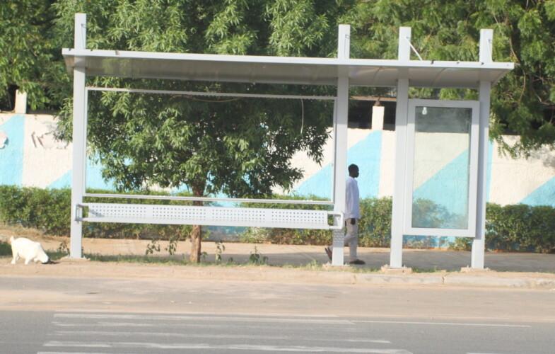 Société : les abribus de N'Djamena s'abîment faute d'entretien