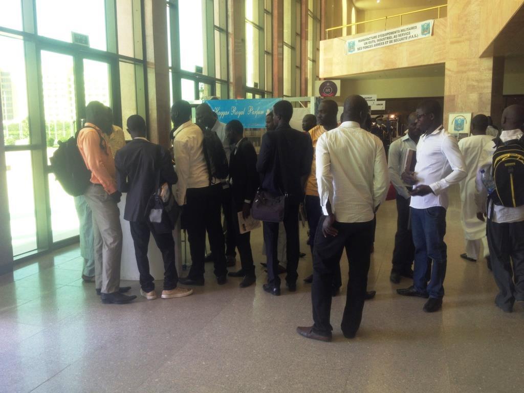 Tchad Talents 2015 : Des milliers de jeunes tentent leurs chances auprès des employeurs