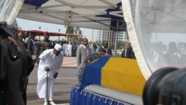 Tchad : la patrie reconnaissante a rendu un dernier hommage à Gata Ngoulou