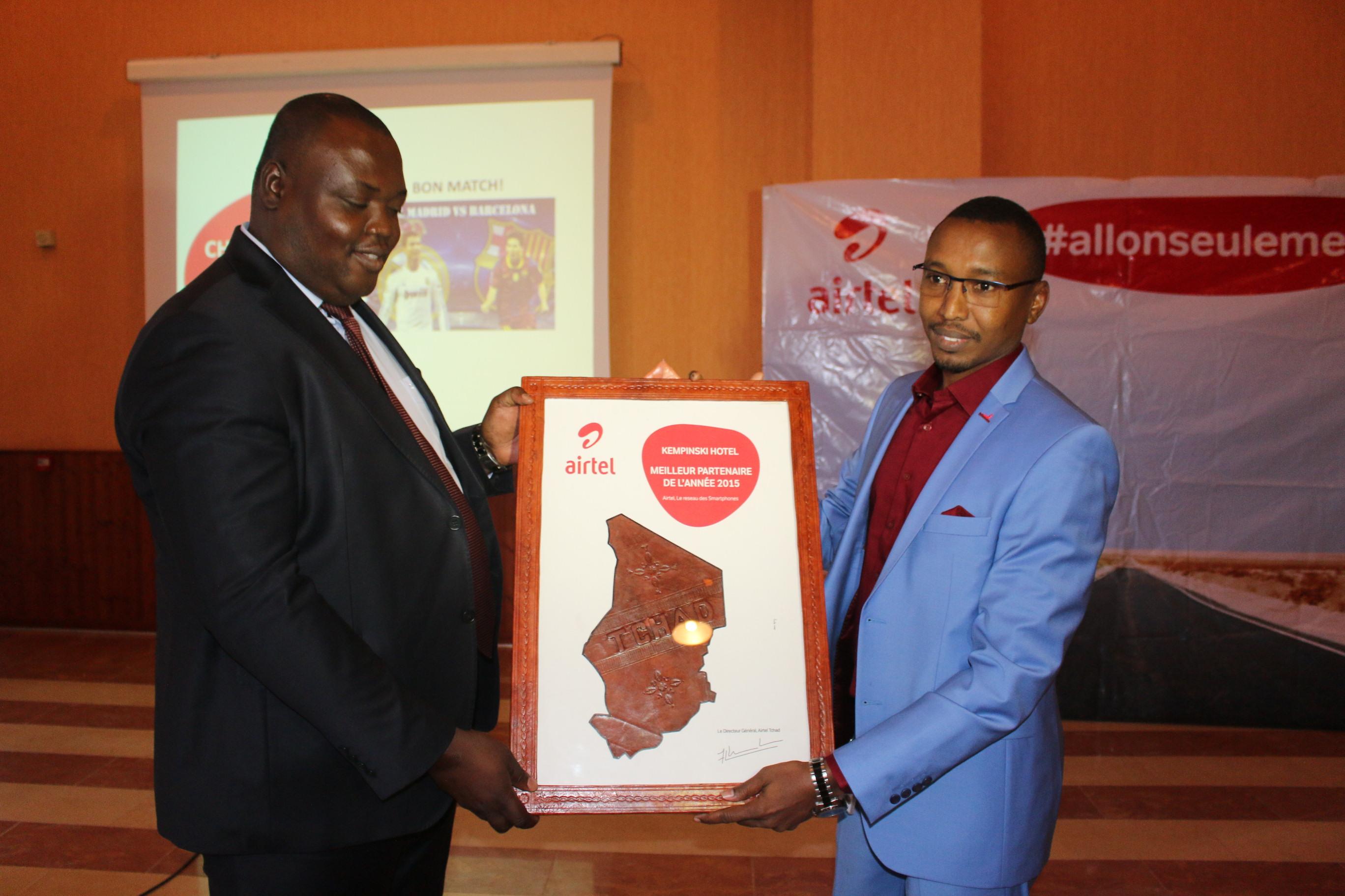 Airtel Tchad récompense ses partenaires