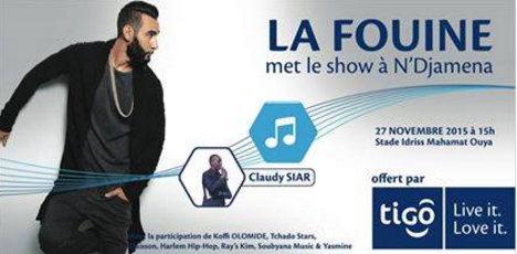 Le rappeur français La Fouine annonce son concert au Tchad pour le 27 novembre