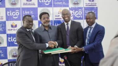 Tigo Tchad – Sup de Co : signature de convention pour une formation Executive MBA