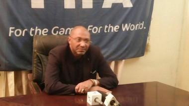 Football : Visite du Directeur du Bureau de développement  pour l'Afrique centrale de la FIFA
