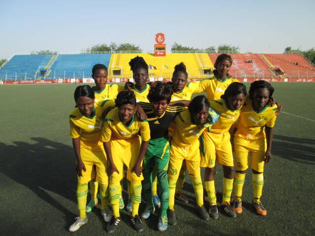 L'Ecole de football Oumar Ngaba remporte la coupe de la ligue féminine