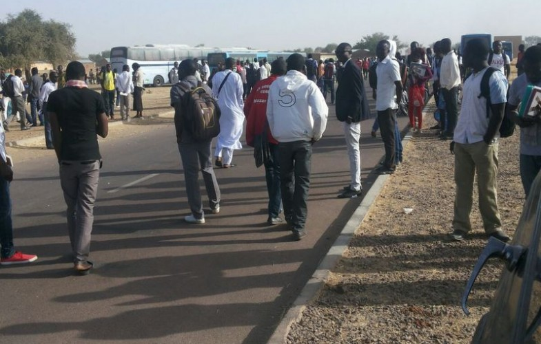 Tchad : les 64 étudiants qui ont caillassé la voiture du ministre Taïsso sont libres