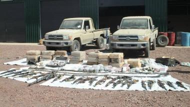 Sécurité : des armes et produits stupéfiants saisis par les forces de l'ordre
