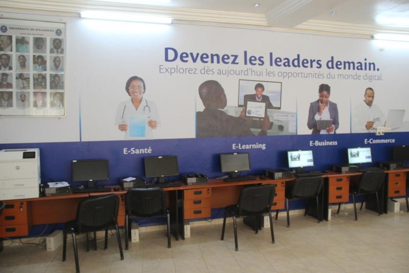 Enseignement supérieur : Millicom-Tchad dote l'Université de N'Djamena d'une salle d'informatique