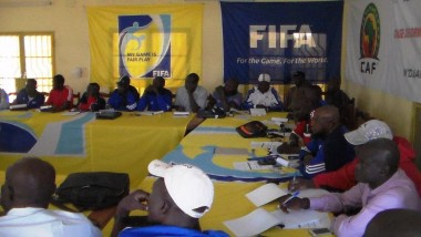 Football : 40 entraineurs détecteurs de jeunes talents en atelier à N'Djamena