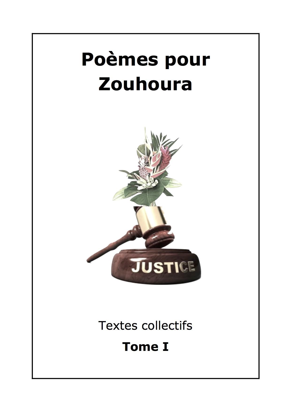Littérature : un recueil de poèmes pour Zouhoura