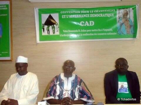 Tchad : l'Alliance socialiste quitte la CAD