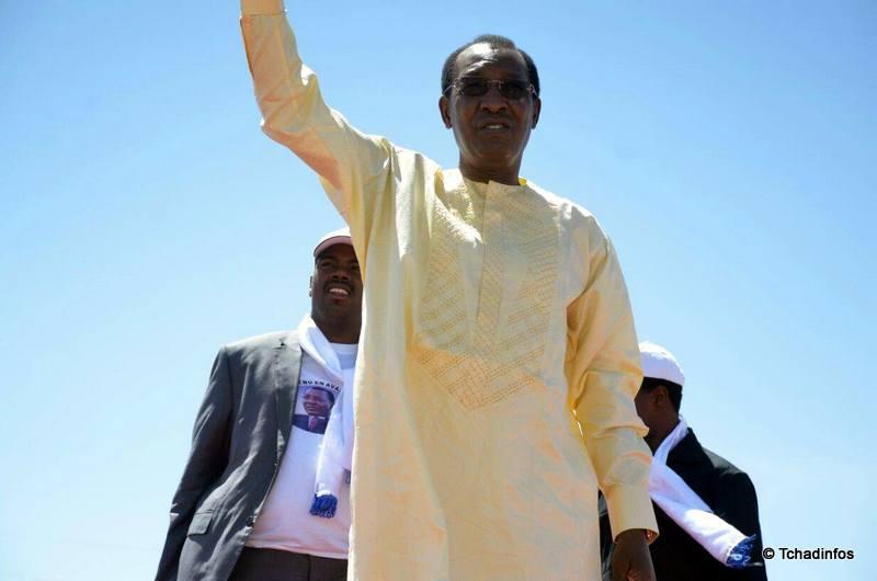 Présidentielle 2016 : le candidat Idriss Deby Itno promet la construction d'un chemin de fer pour désenclaver Abéché